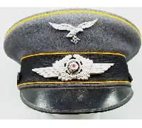 Luftwaffe Flight EM/NCO Visor Cap
