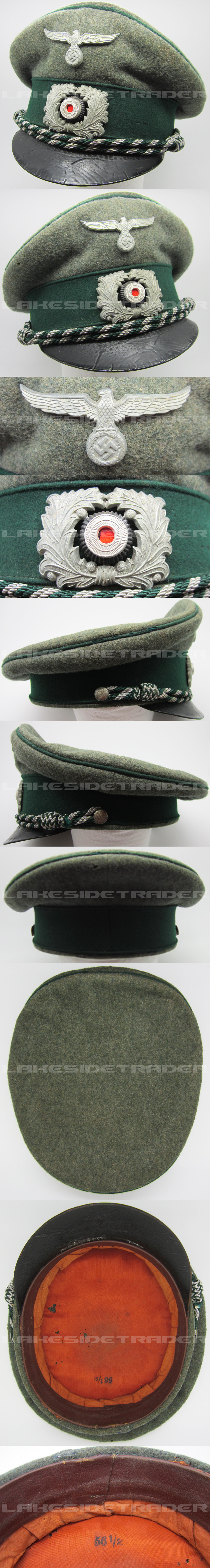 Customs Officers Visor Cap