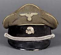Visor Cap for Officers of the Waffen-SS