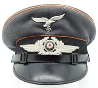 Luftwaffe Signals EM/NCO Visor Caps by Franz Ritter