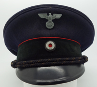 Railway Personnel Visor Cap by Alfred Valet