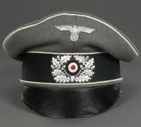 "An Infantry Officer's ""Crusher"" Style Visor"