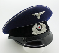 Railway Protection Police EM/NCO Visor by Clemens Wagner