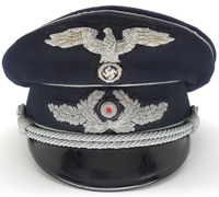 Diplomatic Officials Officer Visor Cap by Clemens Wagner