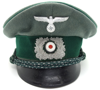 Customs Officers Visor Cap by Otto Schlientz