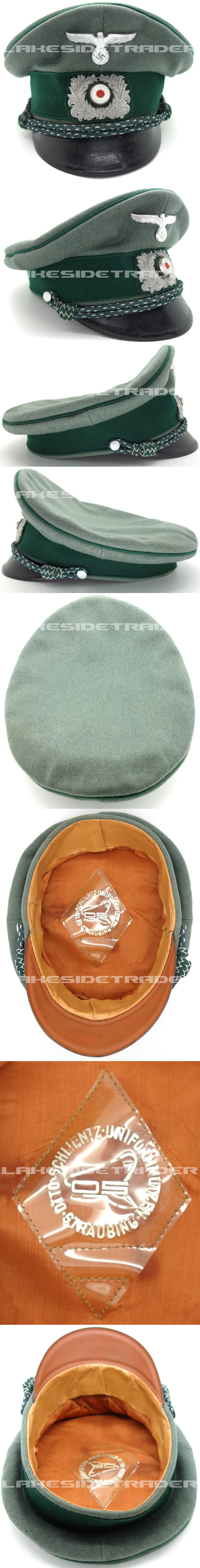 Customs Officers Visor Cap by Otto Schlientz