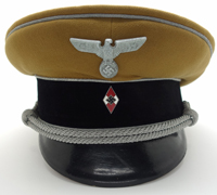 Hitler Youth Leader Visor Cap by Felix Weissbach
