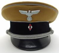 Hitler Youth Leader Visor Cap by Felix Weissbach