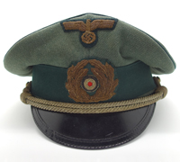 Coastal Artillery Officers Visor Cap