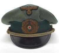 Coastal Artillery Officers Visor Cap