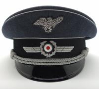RLB Officers Visor Cap by Peküro