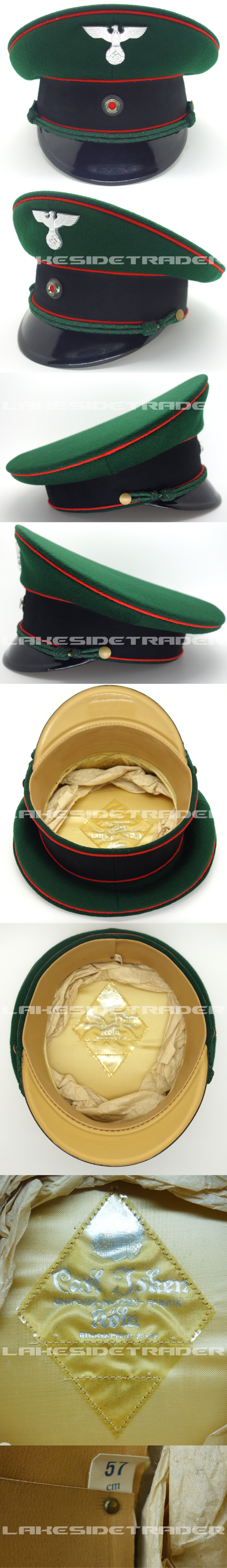 Justice Official Visor Cap by Carl Isken