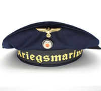 Navy 'Donald Duck' Cap by Aug. Geiger