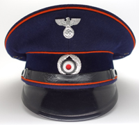 Postal Officials Visor Cap by Peküro