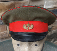 Japanese WWII Imperial Guard Officer's Visor Cap