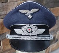 Luftwaffe Officers Visor Cap
