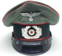 5d020cee9cc Army Artillery Visor Cap by Clemens Wagner