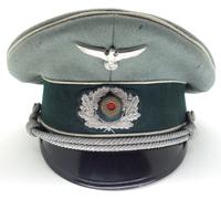 Army Infantry Officers Visor Cap