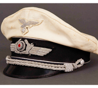 Luftwaffe Officer Summer Visor